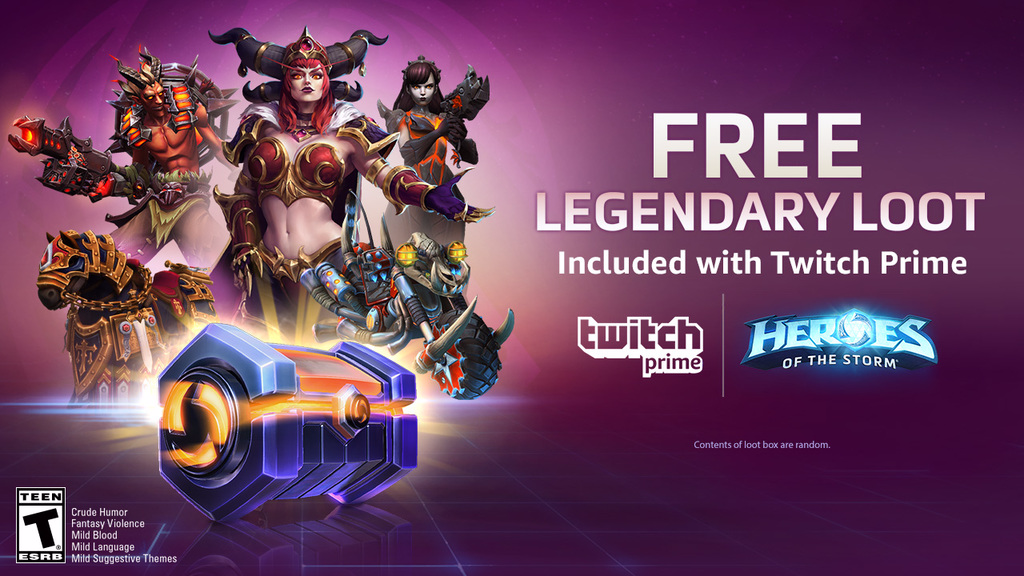 New Rewards for Twitch Prime Members! Twitch Blog