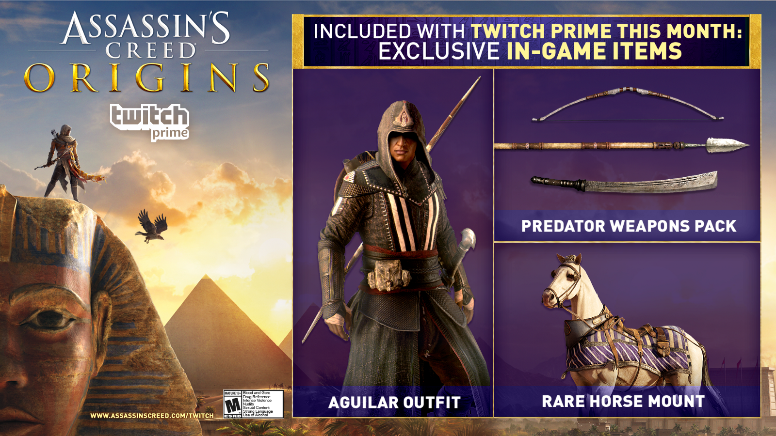 Twitch Prime Members Travel Back To Ancient Egypt In Assassin S