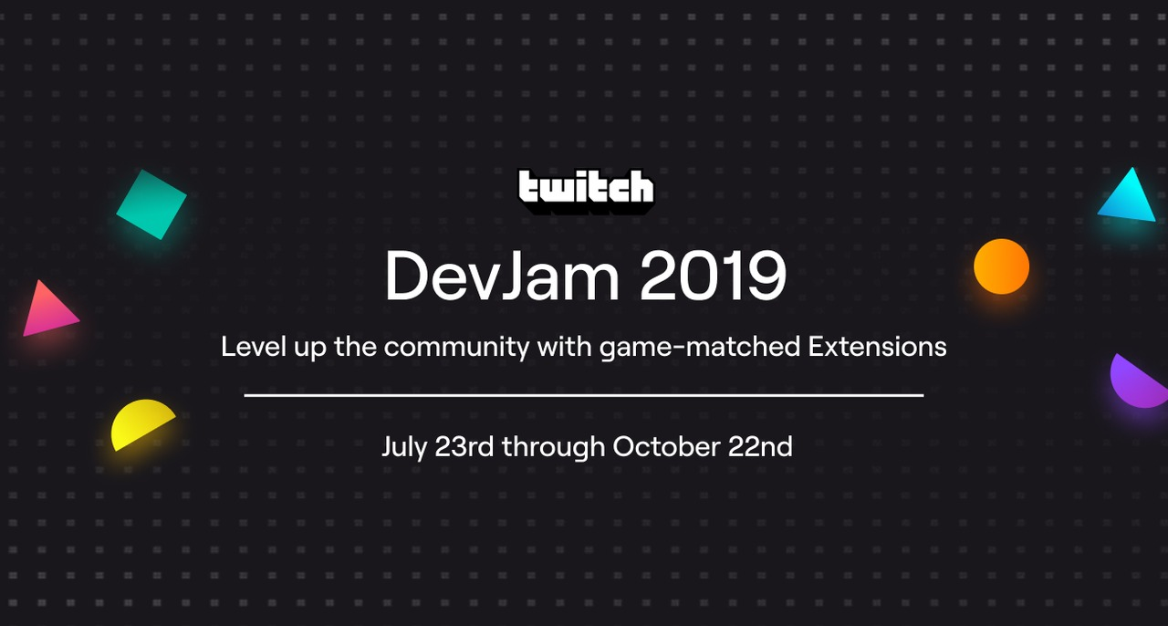 Our Winners for Twitch DevJam: 2019 are...!