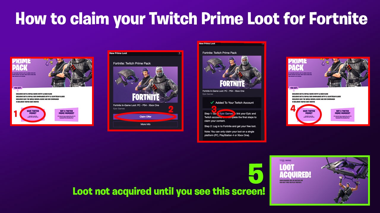 Squad Up In Fortnite With The Exclusive Twitch Prime Pack Twitch Blog
