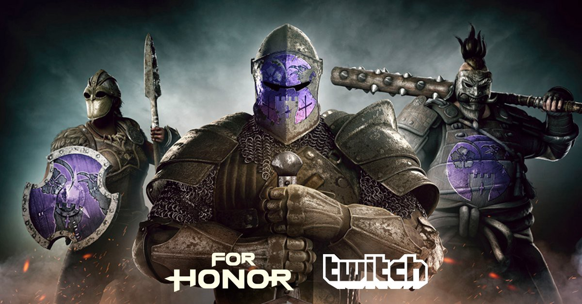 For Honor goes Gold! Twitch events and In-game rewards revealed!