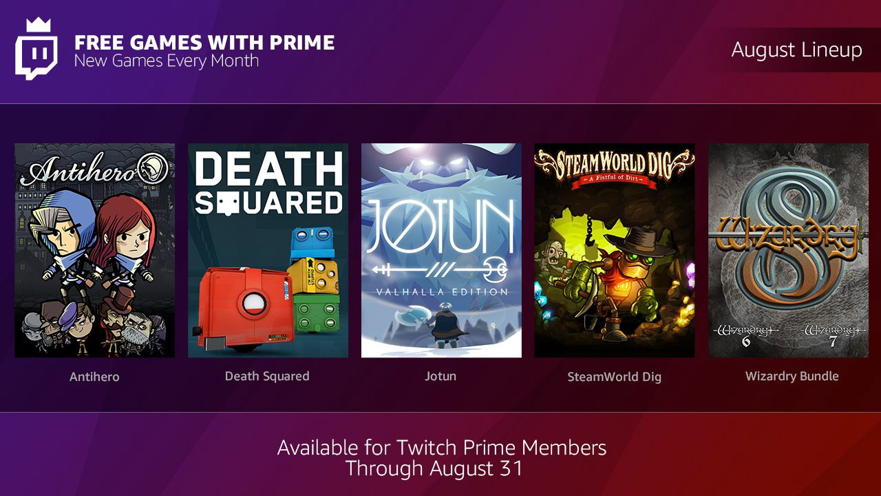 Get ready to game until your thumbs fall off with more Free Games with Prime!