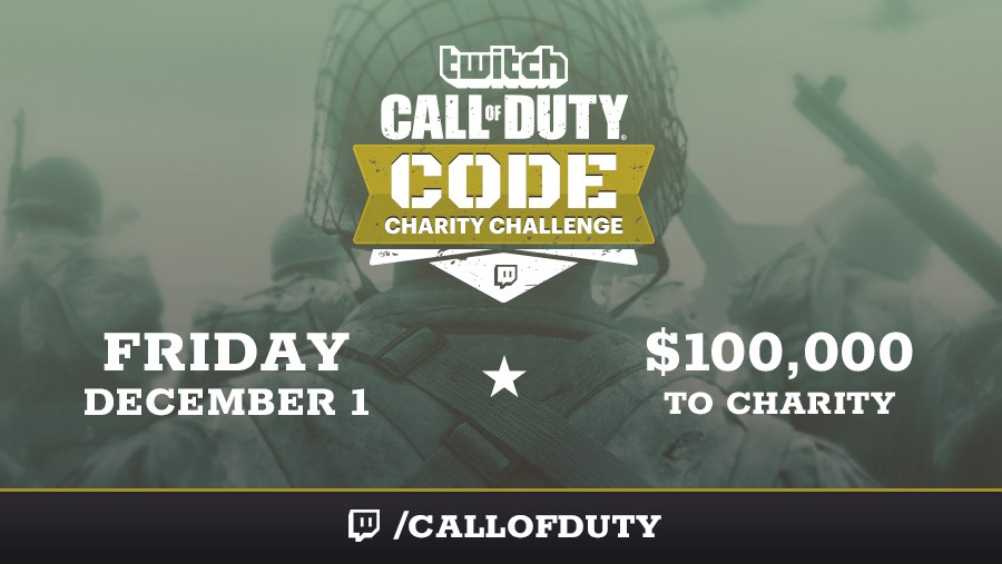 An All-Star event for a great cause: The Call of Duty CODE Charity Challenge!