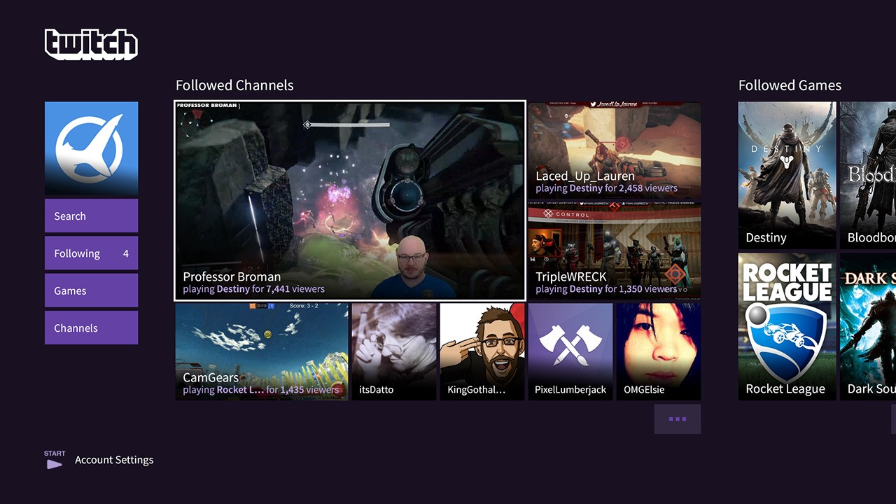 Last Gen Enters The New Age Get The Twitch Ps3 App Now Twitch Blog