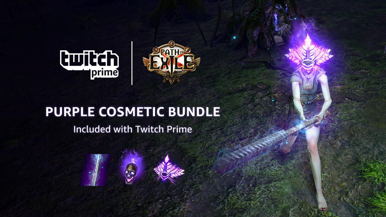 Get more Path of Exile loot with your Twitch Prime membership