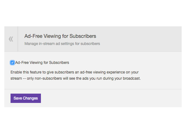 Ad-Free Subs Are Here!