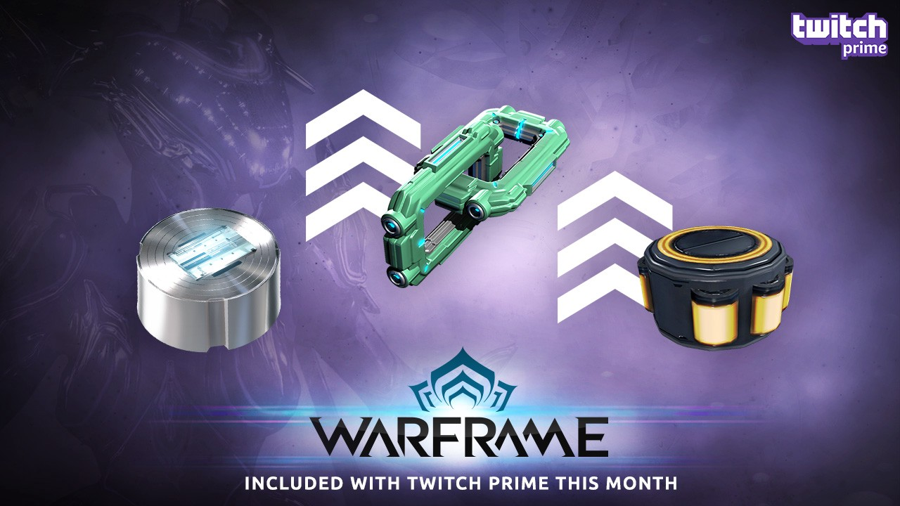 Twitch Prime Members, Level Up Your Arsenal with the Warframe Gear Bundle!