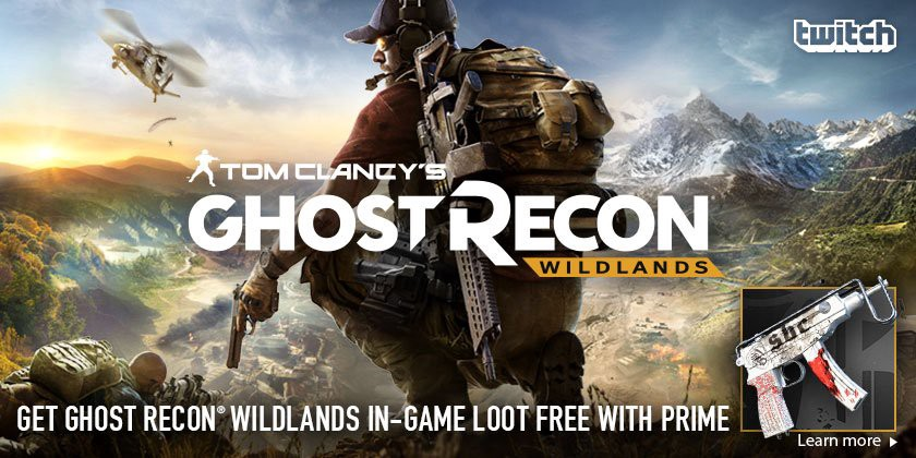 Twitch Prime Members Do Battle In Ghost Recon Wildlands Twitch