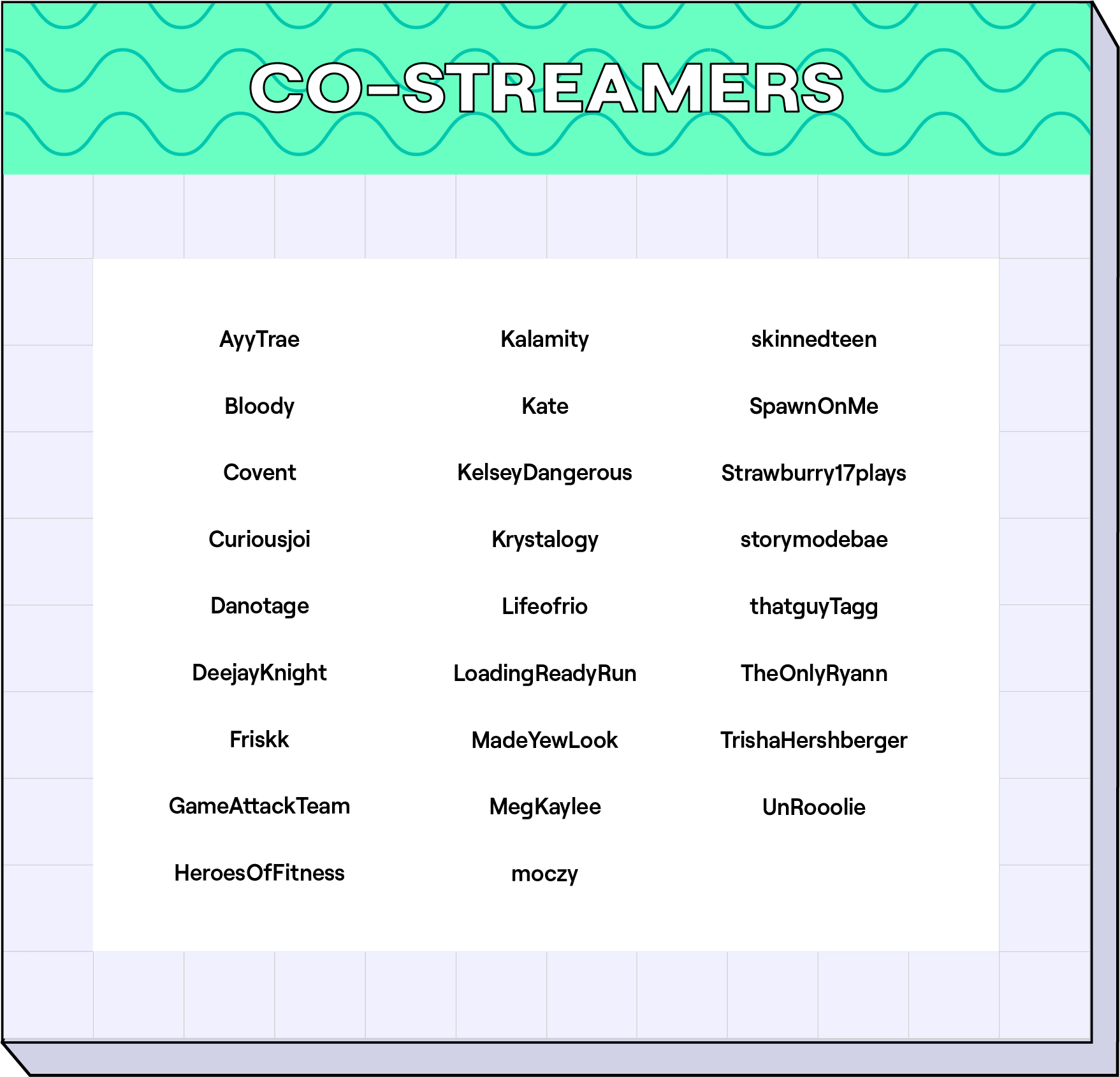 CoStreamers