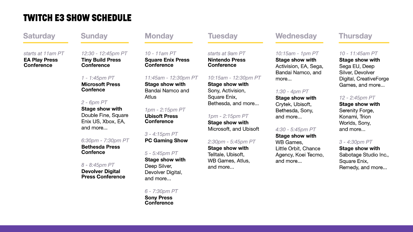 E3 2018 Watch Or Co Stream Every Moment Live On Twitch Twitch Blog