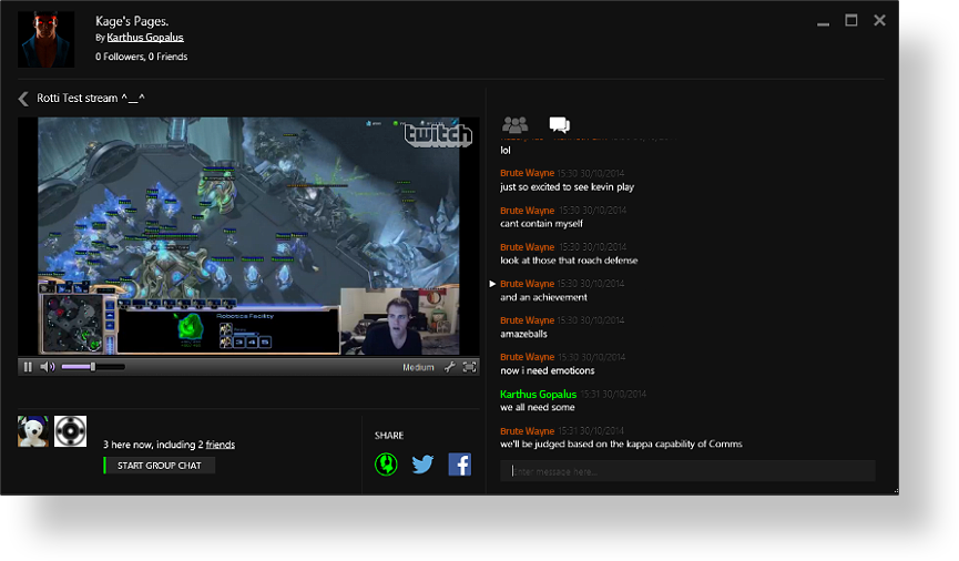 Watch Twitch with the Razer Comms Stream Viewer